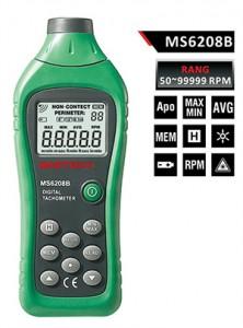 เครื่องวัดความเร็วรอบ Mastech รุ่น MS6208B