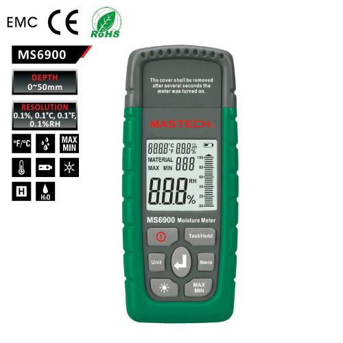 เครื่องวัดความชื้นรุ่น MS6900