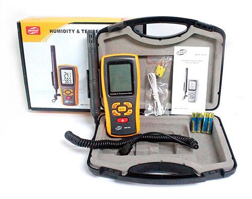 เครื่องวัดอุณหภูมิ ความชื้น GM1361