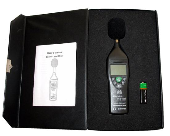 เครื่องวัดเสียงรุ่น DT-805
