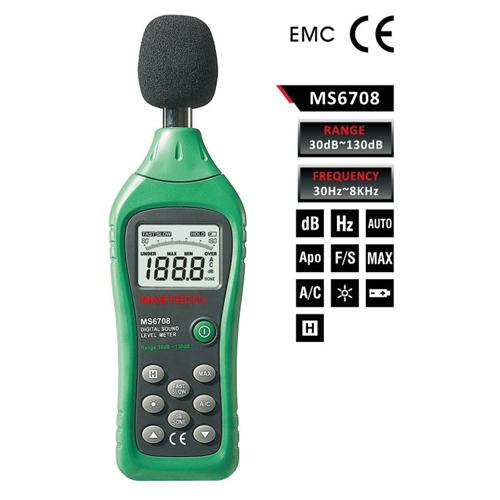 เครื่องวัดเสียง Mastch MS6708