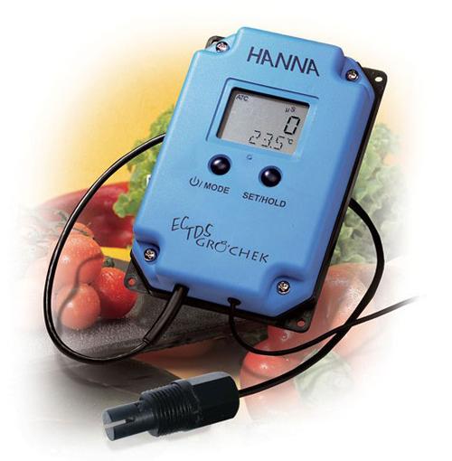 เครื่องวัดไฮโดรโปรนิกส์ EC TDS HI993301
