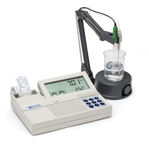 pH Meter แบบตั้งโต๊ะรุ่น HI122